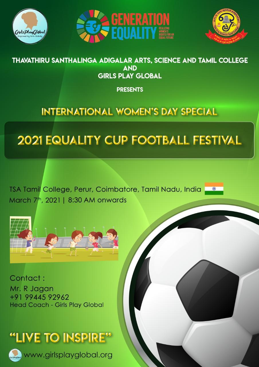 2021 Equality Cup Football Festival